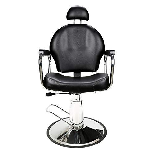 Barberpub barberpub poltrona da parrucchiere poltrona da lavoro poltrona operativa attrezzature per parrucchiere sedia idraulica