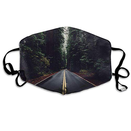 Daawqee Staubschutzmasken, The Woods Have Eyes Anti Dust Face Mouth Cover Mask Respirator Cotton Protective Breath Healthy Safety Warm Windproof Mask