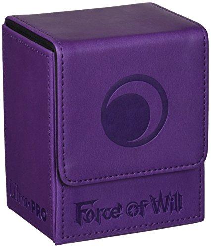 Preisvergleich Produktbild Ultra Pro 84703 - Force of Will Darkness Magic Stone Flip Box, Kartenspiel