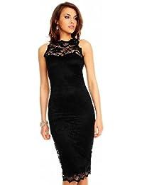 Mayaadi Kleid Coctailkleid Spitze Party Ballkleid Abendkleid 261