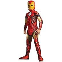 Avengers - Disfraz Iron Man Classic infantil, S (Rubie's Spain 880607-S)