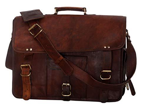 Bolso maletín de cuero