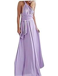 Auspicious beginning Vestido alto atractivo elegante de Maxi del partido del Prom de la tarde de