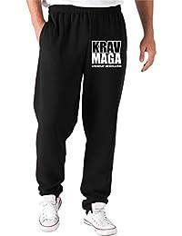 T-Shirtshock - Pantalones Deportivos T0643C KRAV MAGA arti marziali