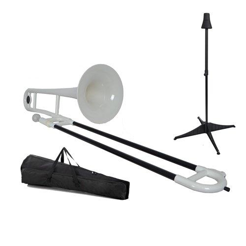 Tromba TBPBL - Trombón de varas, color blanco