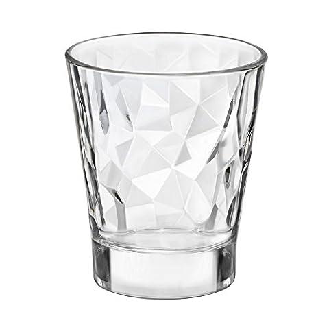 BORMIOLI ROCCO Verre série Diamond Schnapsglas 8cl transparent