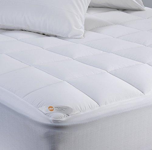 OUTLAST Temperatur Regulierung Wasserdicht Matratzenschoner Bundle, plastik, weiß, Volle Größe