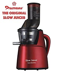 Premsons Big Mouth Slow Juicer The Original - Red (Cold Press Slow Juicer)