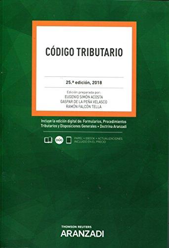 Código tributario (Código Básico) por Gaspar de la Peña Velasco