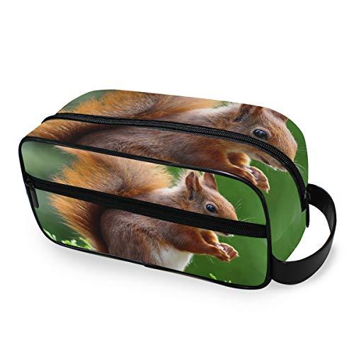 Süßes Tier-Kosmetiktasche für Nagetiere, Reisetasche, Kosmetiktasche, tragbare Make-up-Tasche, Multifunktions-Aufbewahrungstasche aus Segeltuch für Frauen und Mädchen -