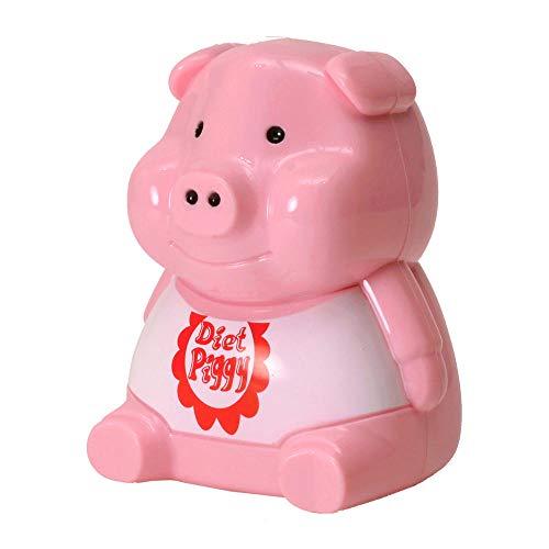 trendaffe Diätschwein Scherzartikel für den Kühlschrank - Diät-Schwein Spaßartikel Gadget Diätschweinchen