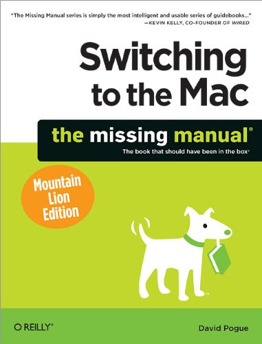 Lion Pda (Switching to the Mac: The Missing Manual, Mountain Lion Edition)