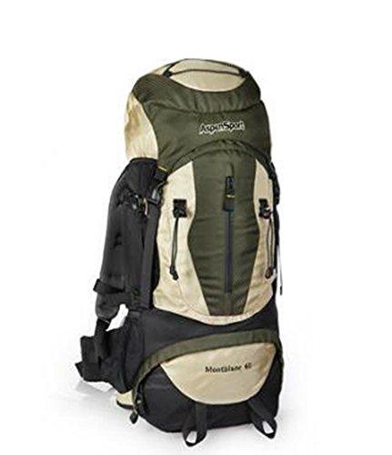 Limit Outdoor Sac à bandoulière Sports Sac à Dos de Voyage Alpinisme Sac mâle étanche Grande capacité Sac de Voyage 60L