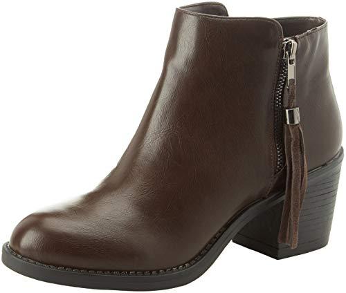 Bata 6914220, Zapatos de tacón con Punta Cerrada para Mujer, (Marrone 4), 38 EU