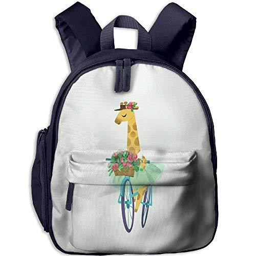 Funny Schoolbag Backpack Giraffe In A Skirt Toddler Kids Pre School Bag Cute 3D Print Children School Backpack