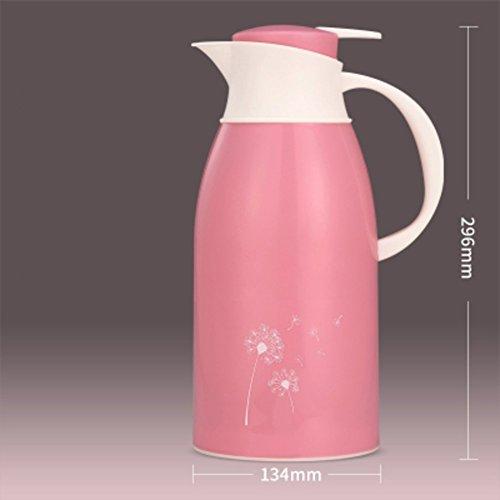 GAIHU Nutzung im Haushalt große Kapazität Thermoskanne Wasserkocher Isolierflasche europäischen Vakuum Flasche kleine Thermoskanne Thermoskanne thermische Kolben Wärmflasche-C 13,4 X5.5cm (5 x 2 - Kleinen Thermoskanne Kolben