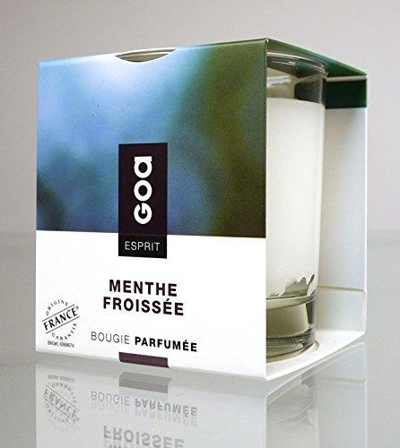 Clem Bougie Parfumée Goa Esprit Menthe Froissée