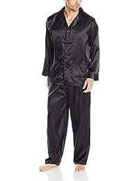 Intimo Men's Poly Satin Pajama Set