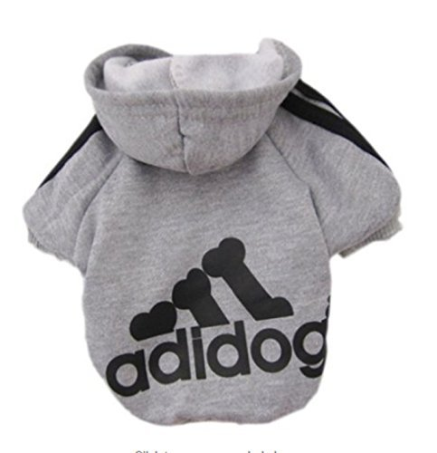 Etbotu Hunde Katzen Haustier Kleidung Hoodie Mantel Welpen Bekleidung Shirt Sport (Kostüm Rabatt Überprüfen)