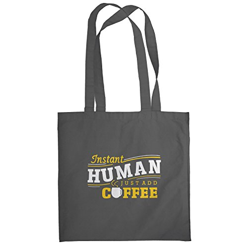 Texlab–instant Human–sacchetto di stoffa Grau