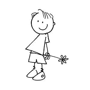 Artemio tipo D, Ragazzo con fiori Holzstempel