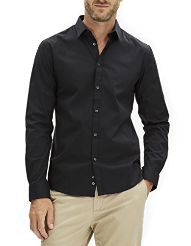 Celio Herren, Businesshemd, Jasantal2 Schwarz
