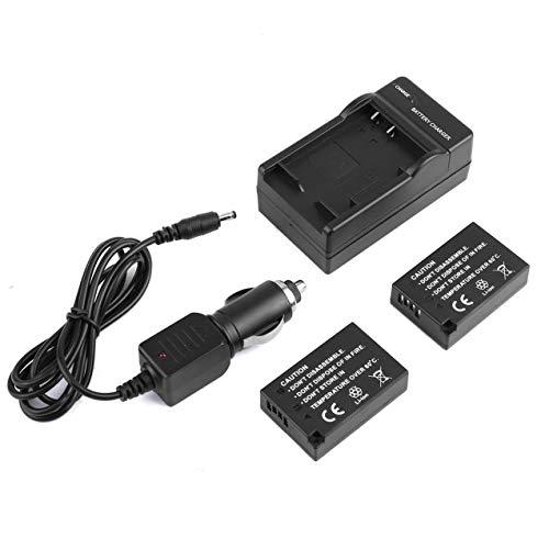2pcs Kamera-Batterien 1040mAh und Reise-Ladegerät & Car Charging Line für Canon LP-E17 Digital/Video Kamera