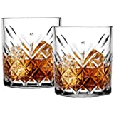 Soogo Camilo Glass Rock Glass Set, 310 ml, 2-Pieces, Transparent
