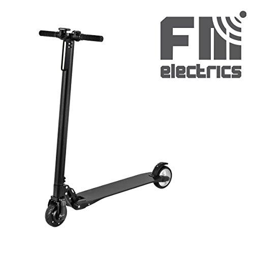 Preisvergleich Produktbild fm-electrics Scooty / E-Scooter mit Akku,  30 km / h schnell,  Reichweite bis 25 km! Power-Brushless Motor in Radnabe ! Tretroller mit Akku