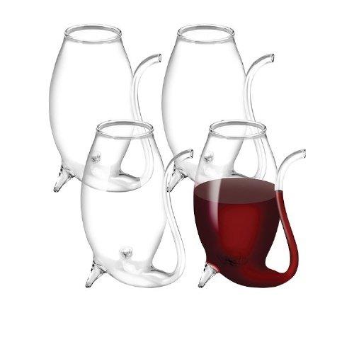 Glas Portwein, Set von 4–75ml