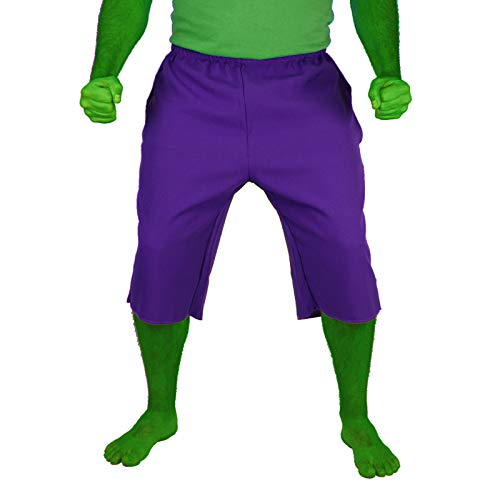 Largemouth Herren Shorts The Incredible Hulk Gr. Large, violett (Incredible Hulk Avengers Kostüm)