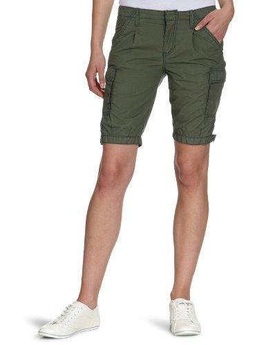 Vans, Pantaloni corti Donna Blixen Cargo, Verde (thyme), 46