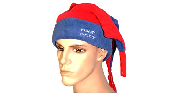 3dd4f52f600 Wet Rock Jester Fun Ski Hat - Navy Red  Amazon.co.uk  Sports   Outdoors
