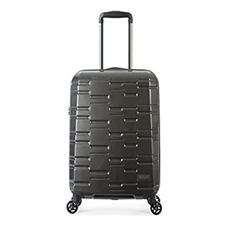 Antler Prism Cabin Suitcase Charcoal , Size: 55 x 40 x 20