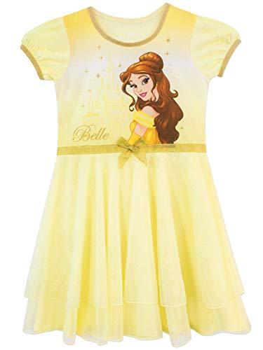 Disney Mädchen Schöne und Das Biest Nachthemden Gelb -