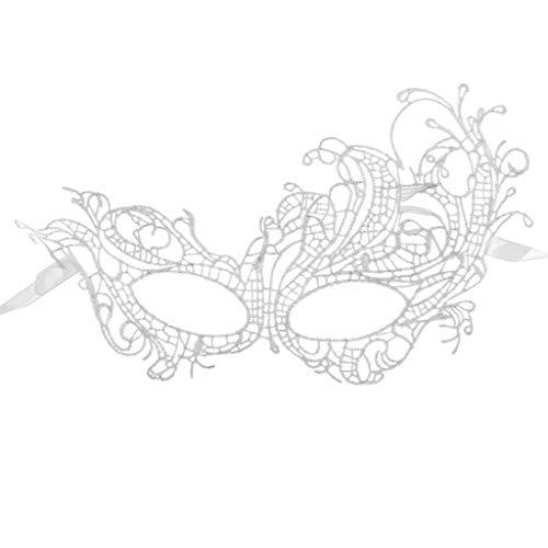 ß Lace Masquerade Maske Damen Maskenspiel Frauen Sexy Augenmaske Venetian Gesichtsmaske Karneval Maskerade für Hallween Weihnachten Party ()