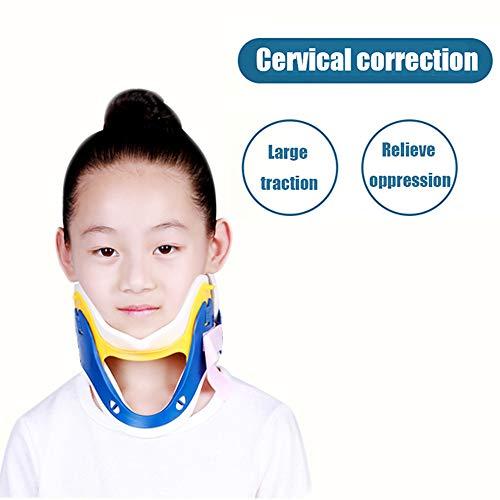 WYYUE Halsstütze - Gebärmutterhalskrebs-Traktionsgerät - Home Medical Stretching Erwachsene Kinder korrigieren Wirbelsäule Gerät,Child