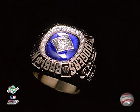 1988 Los Angeles Dodgers World Series Ring Photo Print (50.80 x 60.96 cm)