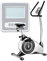 AsVIVA Ergometer Heimtrainer Cardio VI H11 mit 15kg Schwungmasse und Multifunktionscomputer, 16 Level und 12 Automatikprogramme, Magnetbremse