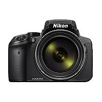 Nikon COOLPIX P900 Digital Camera - Black (16.0 MP CMOS sensor, 83x Zoom) 3-Inch LCD Screen Kompakt Kamera