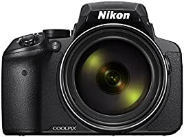 Nikon COOLPIX P900 Digital Camera - Black (16.0 MP CMOS sensor, 83x Zoom) 3-Inch LCD Screen