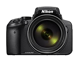 "Nikon Coolpix P900 - Cámara compacta de 16 MP (Pantalla de 3"", Zoom óptico 83x, estabilizador óptico, grabación de vídeo Full HD), Negro (B00U5W8H6W) 