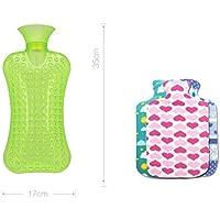 XQ Dicker PVC-Wassereinspritzung-Heißwasser-Beutel-Streifen-warmer Wasser-Beutel-Explosionsschutz-warme Hände... preisvergleich bei billige-tabletten.eu