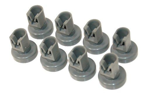 zanussi-lavavajillas-gris-superior-basket-wheels-pack-de-8-genuine-numero-de-pieza-50286967000-multi
