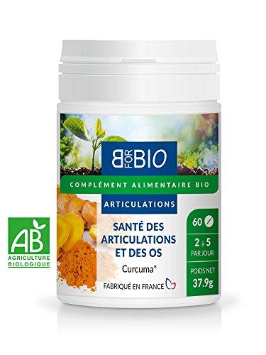 Contre Les Douleurs Articulaires - Arthrose - Inflammations- Complément Alimentaire Bio Curcuma