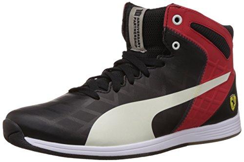 Puma evo Speed 1.4 SF Mid 10 black/mystic blue Gr. 42 Evo Mid Sneaker