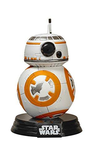 Funko FK6218 - Star Wars Episode VII The Force Awakens BB-8 Droid Vinyl Figure, 10 cm
