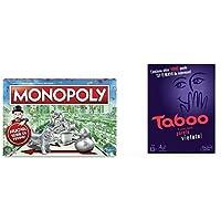 Monopoly, Classico, C1009103 & Hasbro Gaming A4626103 Taboo (Gioco In Scatola)