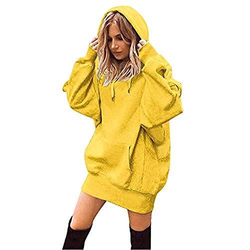 OSYARD Sweats à Capuche Femme, Hoodie Sport Sweat-Shirts Robe Veste à Manches Longues Hiver Pull...