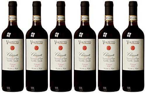 Volpetto Chianti DOCG Red Wine, 75 cl (Case of 6)